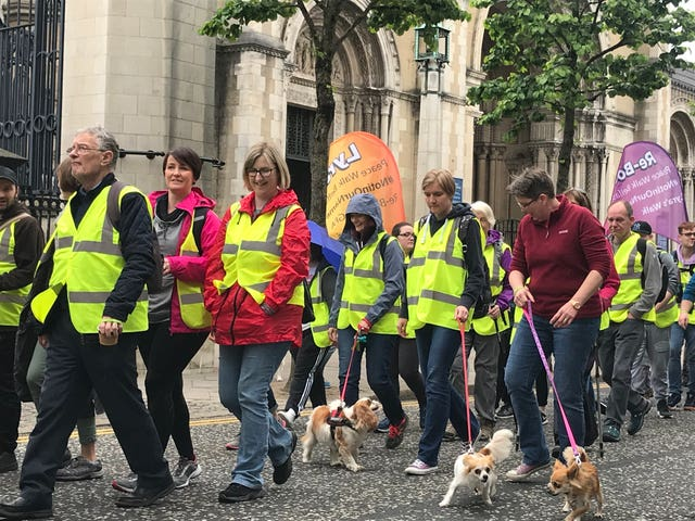 Lyra McKee peace walk