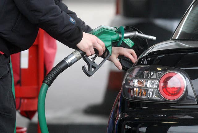 New petrol and diesel cars sales