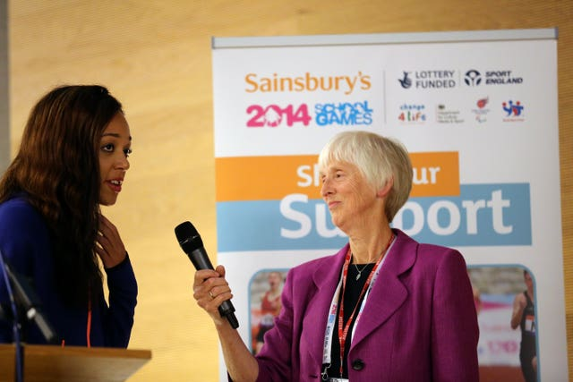 Baroness Sue Campbell has a wealth of experience from her time at UK Sport