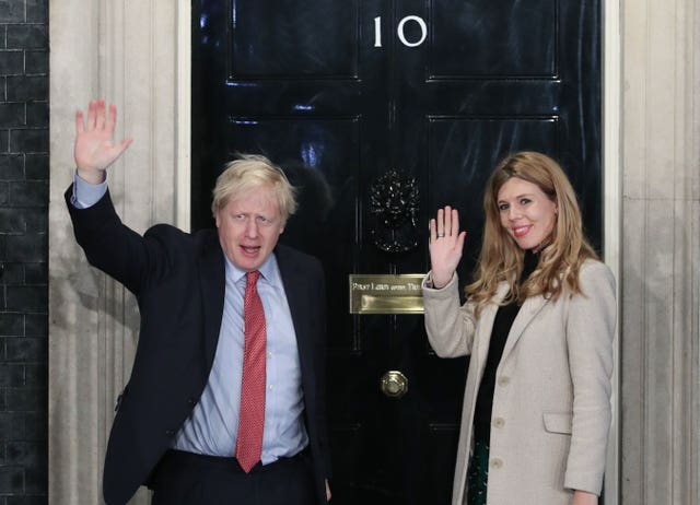 Boris Johnson and Carrie Symonds expecting a baby