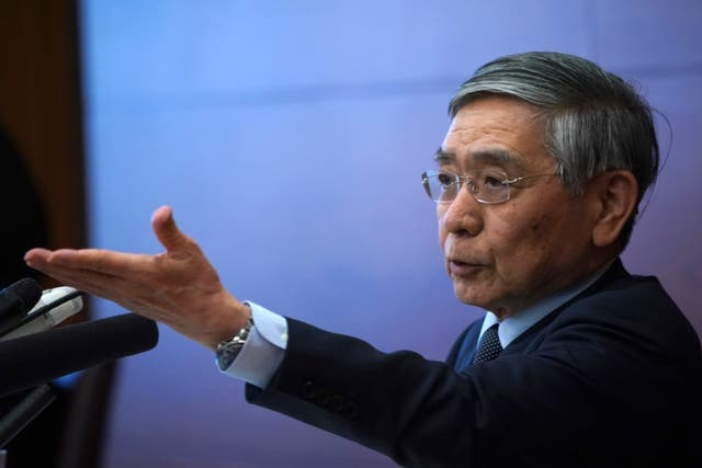 The Bank of Japan's governor