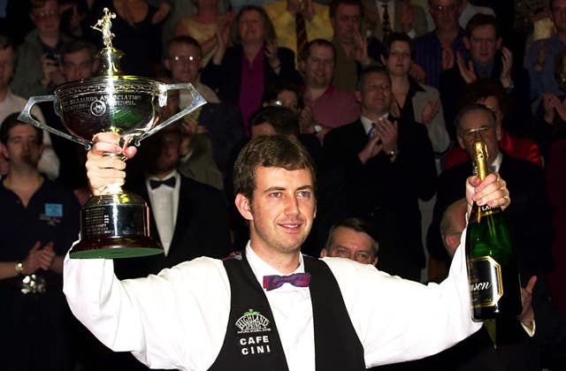 World snooker Williams trophy