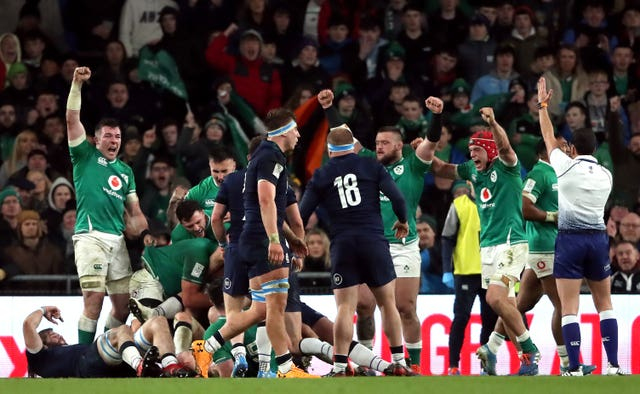 Ireland v Scotland – Guinness Six Nations – Aviva Stadium