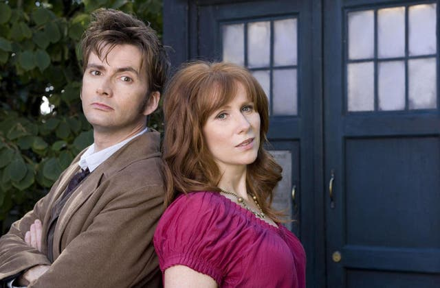 Tate and Tennant in Doctor Who
