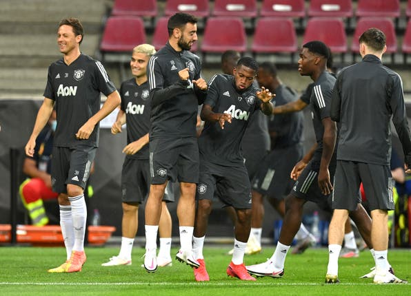 Manchester United are preparing for Sunday's semi-final against Sevilla