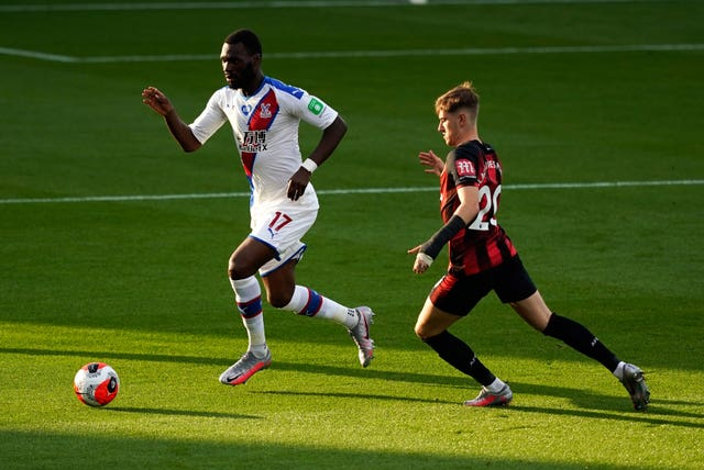 Bournemouth attacker David Brooks, right, enjoyed a superb debut season at the Vitality Stadium in the 2018-19 season