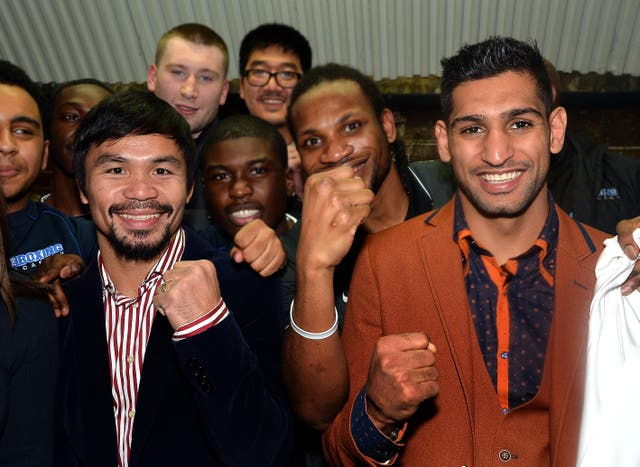 Khan wants to fight Pacquiao next