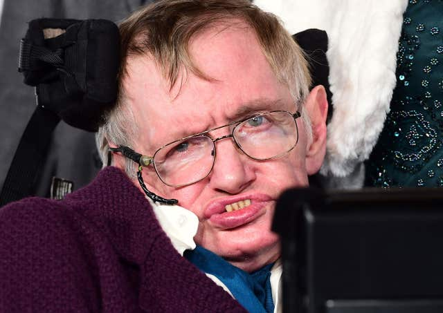 Professor Stephen Hawking death