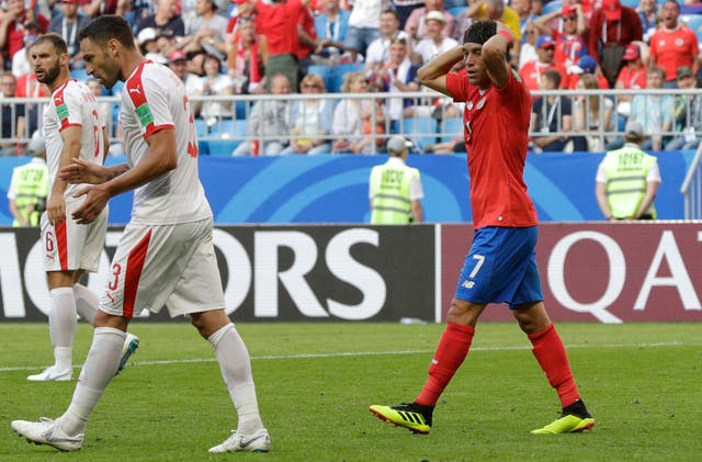 Costa Rica paid the price for missed chances