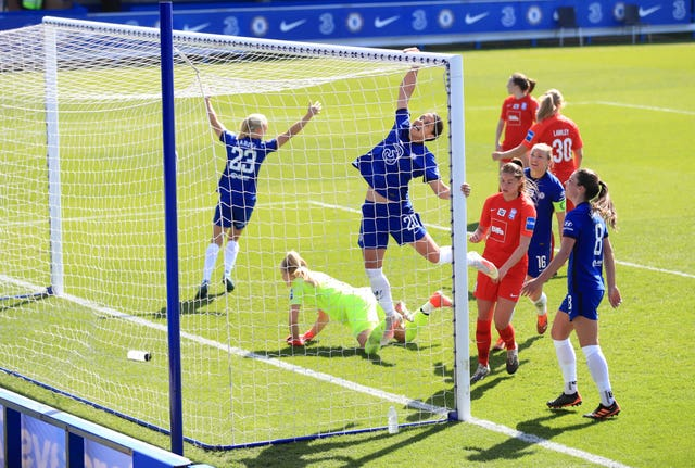 Birmingham lost 6-0 at Women's Super League leaders Chelsea on Sunday