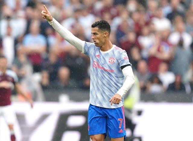 Cristiano Ronaldo brought the visitors level