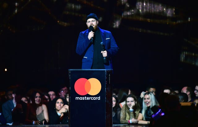Tom Walker at the Brits