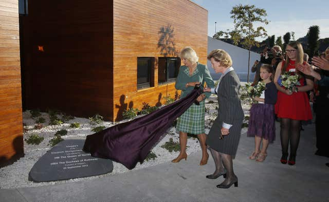 Duchess of Cornwall opens cancer support centre