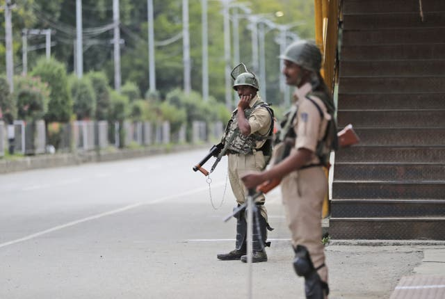 Kashmir is under a lockdown