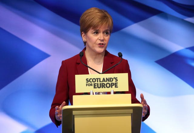Sturgeon's St Andrew's Day speech