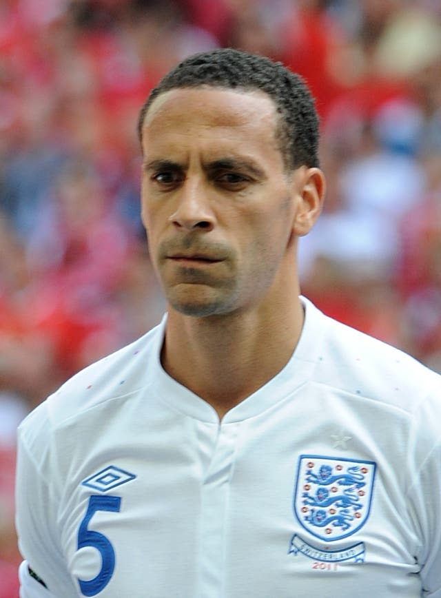 Rio Ferdinand admits playing for England was often a big weight to bear mentally
