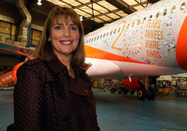 Outgoing easyJet chief executive Carolyn McCall (PA)