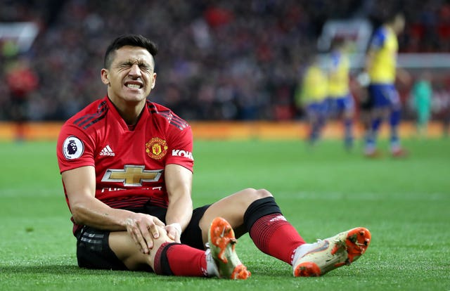 Alexis Sanchez has missed the last six weeks because of a knee injury (Martin Rickett/PA)