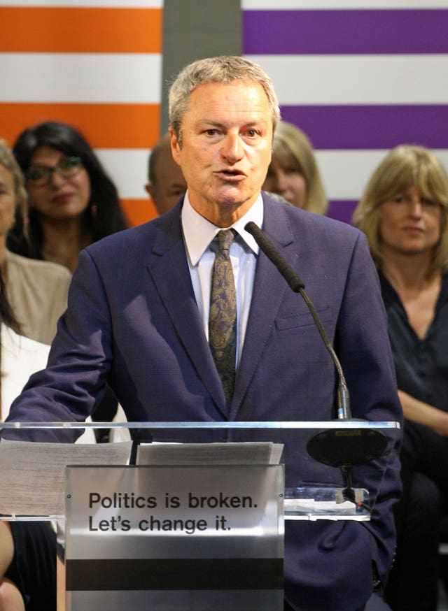 Former BBC journalist Gavin Esler is standing as a candidate