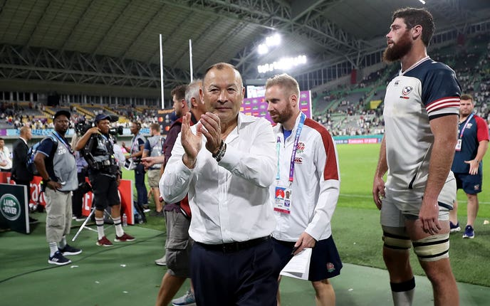 England head coach Eddie Jones places heavy demands on his forwards