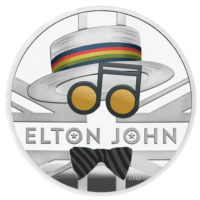 The Royal Mint's Elton John 2020 UK One Ounce Silver Proof Coin