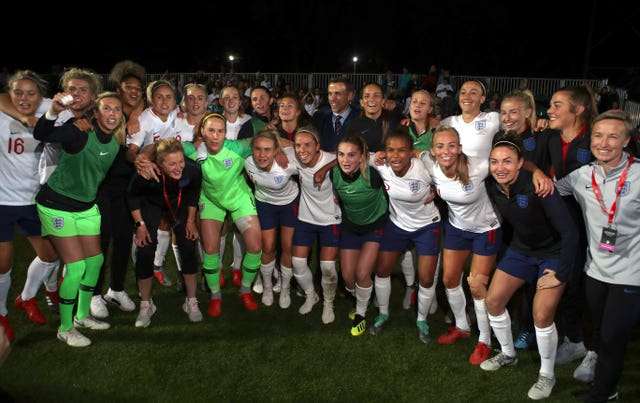 England women's team need to finish in the top three at next year's World Cup to qualify Great Britain for the 2020 Olympics (Nick Potts/PA).