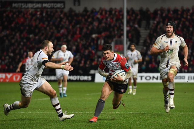 Louis Rees-Zammit has been in fine form for Gloucester