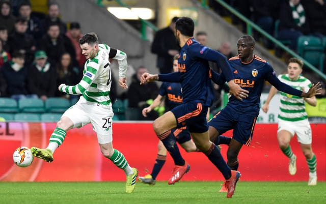 Oliver Burke tried his best to get Celtic back in the game