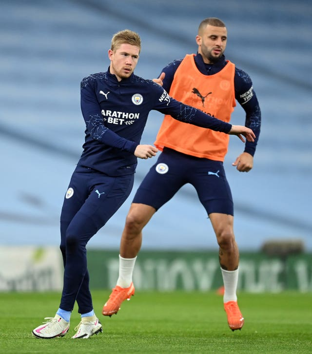 De Bruyne sees himself as a leader at City on and off the pitch