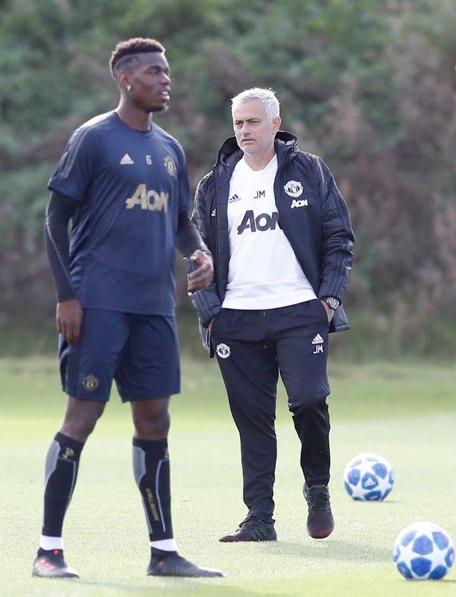 Jose Mourinho fell out with Paul Pogba during the end of his time at Manchester United