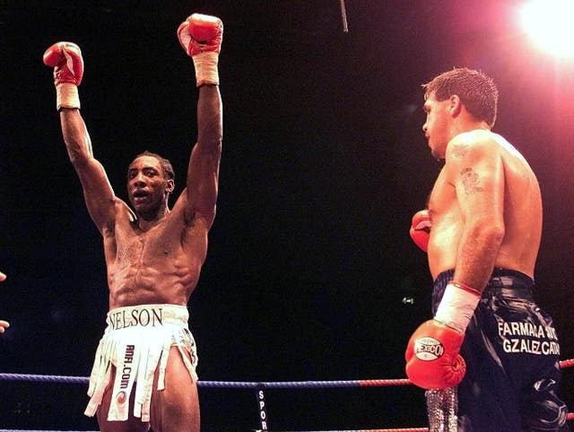 Johnny Nelson (left) fought in Brazil and Mexico