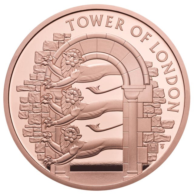 Royal Mint Tower of London collection
