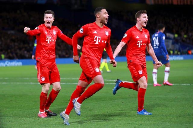 Chelsea were well beaten by Bayern Munich