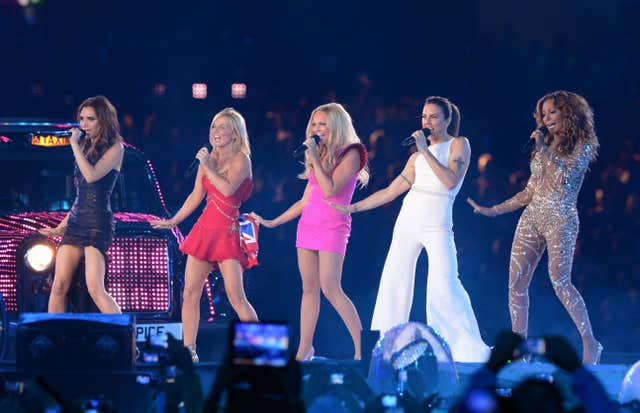The Spice Girls  (Anthony Devlin/PA)