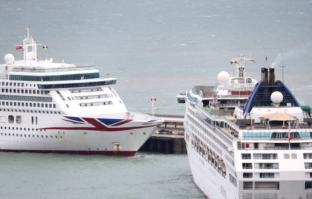 The Port of Dover (Gareth Fuller/PA)