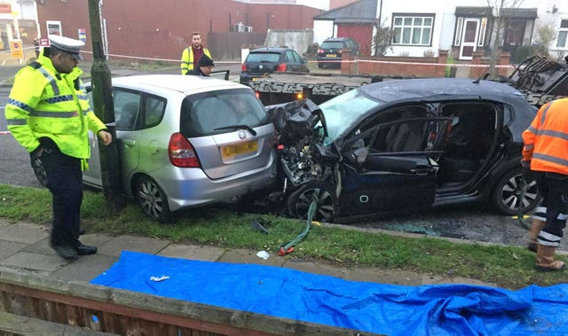Eltham car crash