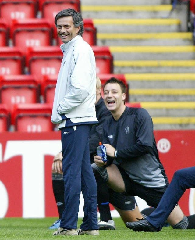 Soccer – UEFA Champions League – Semi Final – Second Leg – Chelsea v Liverpool – Training Session – Anfield