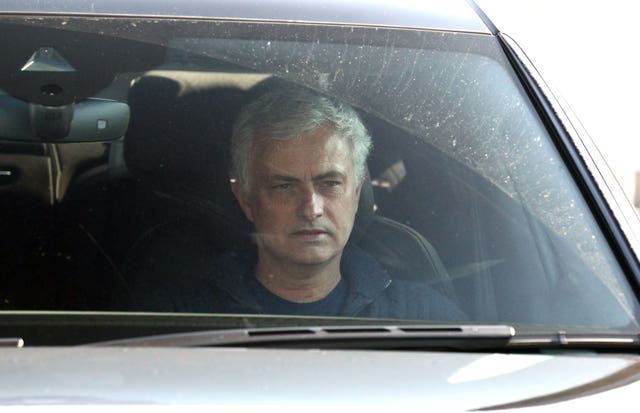 Jose Mourinho left Tottenham on Monday
