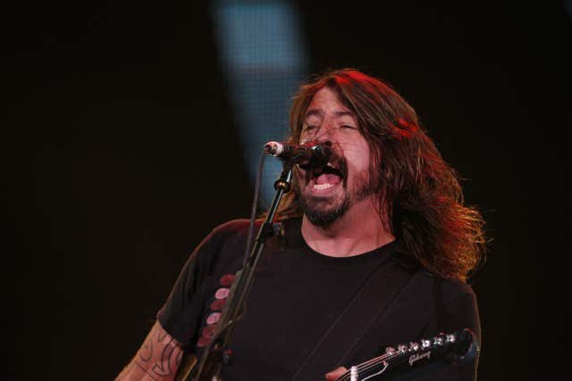 Dave Grohl of the Foo Fighters (Jonathan Brady/PA)