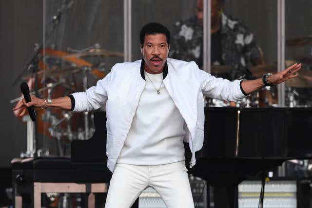 Lionel Richie's ' was all but forgotten, according to the researchers (Joe Giddens/PA)