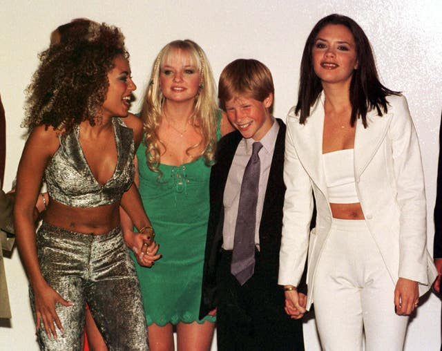 Harry and the Spice Girls