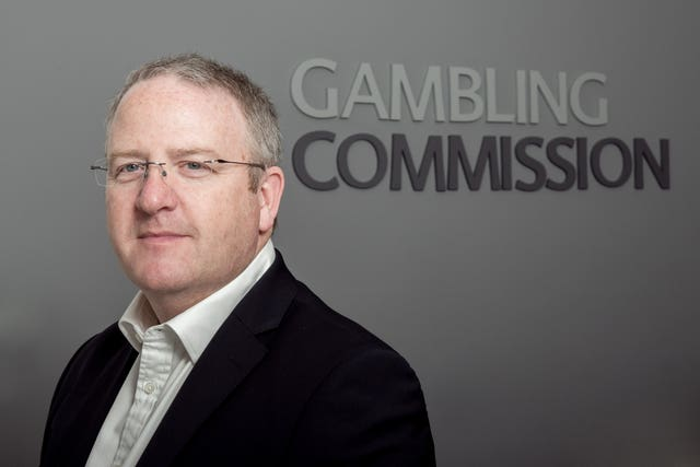Gambling Commission chief executive Neil McArthur