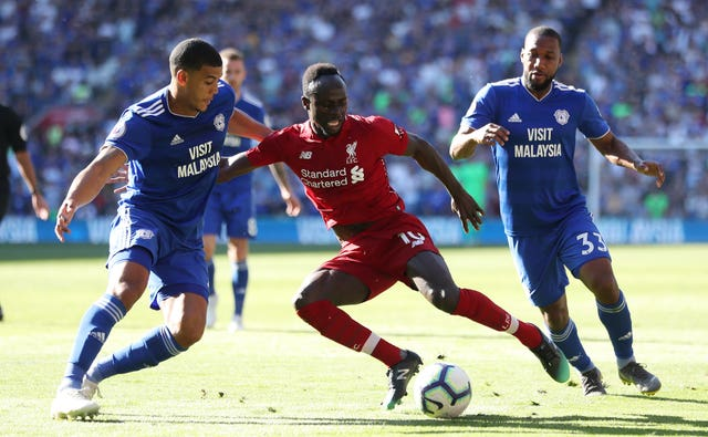 Cardiff City v Liverpool – Premier League – Cardiff City Stadium