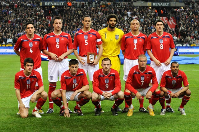 Joe Cole played in an England team of which much was expected