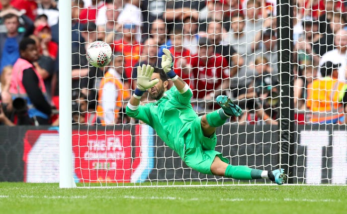 Claudio Bravo made the crucial save as City won the Community Shield on penalties