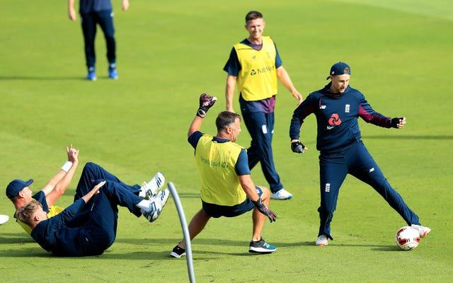 England's cricketers will not be playing football in their warm-ups from now on
