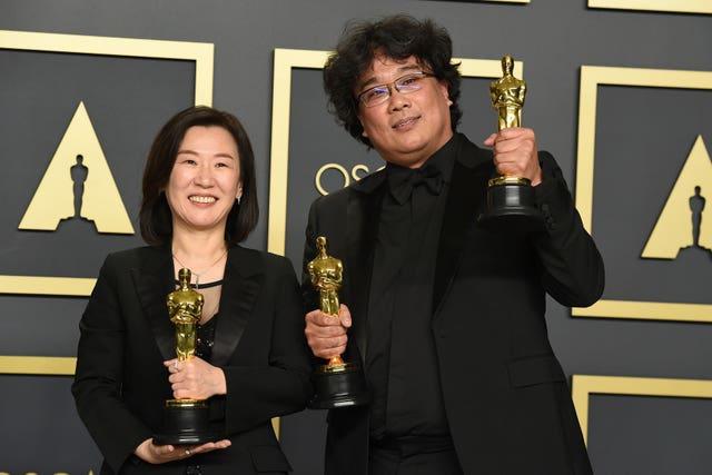 92nd Academy Awards – Press Room