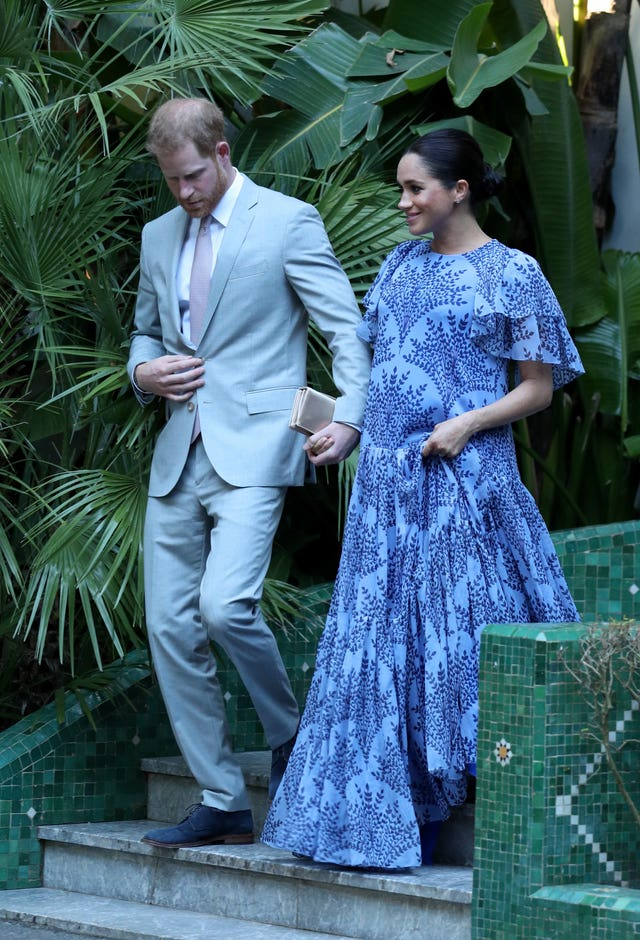 Harry and Meghan in Rabat
