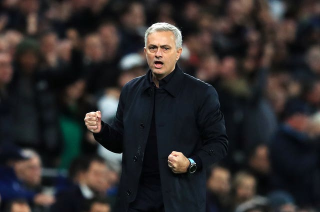 Mourinho made it two wins from wins since taking over as Tottenham head coach