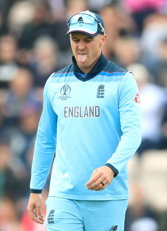 Opener Jason Roy will sit out at least the next two games in the World Cup.